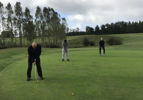 Les APT à la découverte du golf !